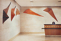 Kites instalation by Beverley Clarke