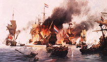 Historic Marine painting by John Groves