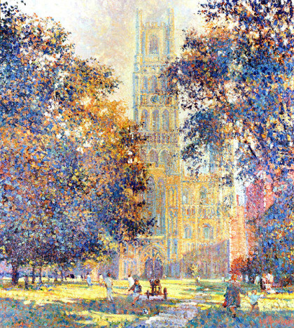 Ely Cathedral by Arthur K Maderson
