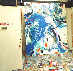 Interior of Philip Mount's studio