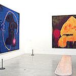 John Hoyland Exhibitionat Tate St Ives