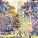 Artthur K Maderson 'Ely Cathedral' commission for Cellnet/O2