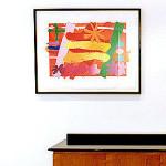 Bert Irvin RA Silkscreen print