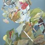 Kitty Jenkins 'Untitled Green' Oil on canvas