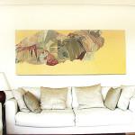 Kitty Jenkins 'Untitled Yellow' Oil on canvas