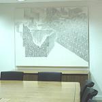 Yun Kyung Jeong drawing at Sinopec