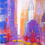 Colin Ruffell 'New York'  Acrylic on canvas