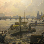 Bert Wright RSMA 'Westminster' Watercolour