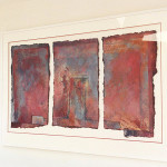 Tower Bridge Private client - Carol Farrow Mixed Media Triptych