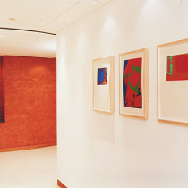 Nabarro - Silkscreens by Patrick Heron and Sculpture by Simon Stringer RBS