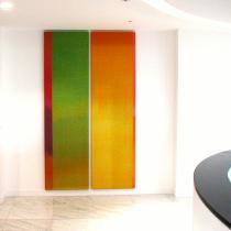 Nabarro -  Textile installation by Ptolemy Mann