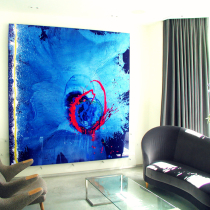 Queen's Park 'Lost in Blue' Painting by John Hoyland RA